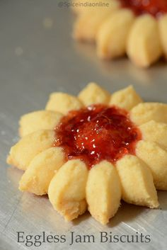 Summer vacation is almost here, Sid is busy with his finals and will be happy once it gets over this week. For a little surprise I made these jam drop cookies. ...