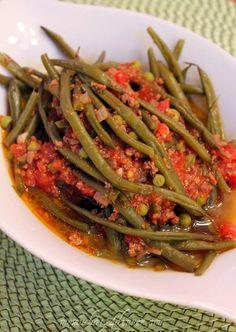 Mediterranean Style Green Bean Stew- Taze Fasulye