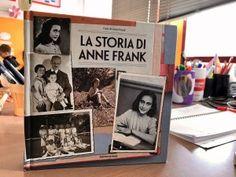 Un diario speciale: il diario di Anna Frank : lamaestraelena.it Anna, Anne Frank, Cover, Books, Image, Diary Book, Libros, Book, Book Illustrations