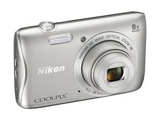 Nikon COOLPIX S3700 Digital Camera with 8x Optical Zoom and Built-In Wi-Fi #Nikon