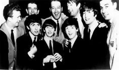 The Beatles with the WMCA Good Guys, New York, 1964.