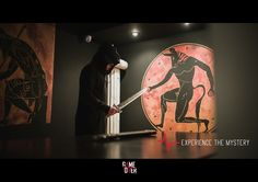 Minotaur is dead but you have to escape the labyrinth and save your life..... ⏰ Game Over EscapeRooms
