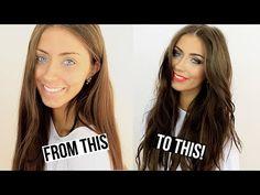 Date Night | Hair & Makeup Tutorial ♡ Danielle Mansutti - YouTube