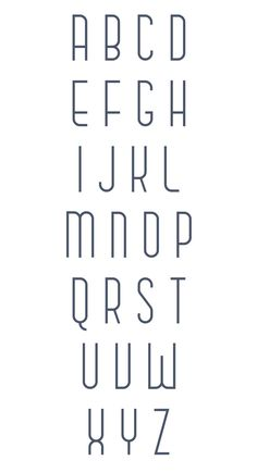 The clean, simple CHASE font by Anthony James. Check out more of his cool font designs at https://www.behance.net/anthonyjames