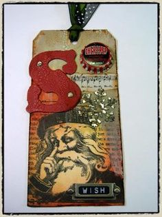 it's day 1 and time for some fun… Tim Holtz 2007