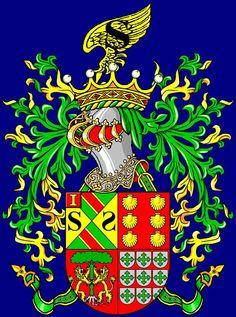 Armas do visconde da varsea da ourada, Albufeira
