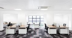 Open space into the offices of Stanley B&D in Inversness, Scotland
