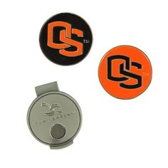 NCAA Oregon State Hat Clip and 2 Golf Ball Markers by Team Effort. $9.99. Magnetic hat clip with ball markers attaches to hat or visor.