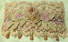 shabby chic rose cuff | Flickr - Photo Sharing!