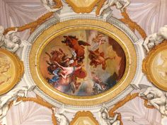 One of the many ceilings Palazzo Borghese Roma