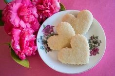German Rose Water Sugar Cookies