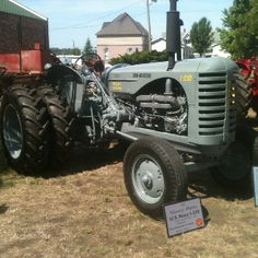 Rare 1950's Massey Harris tractor built for and used by the U.S. Navy. One of only six built.