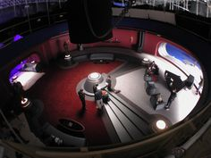 A bird's eye view as the most important office in the galaxy is readied for an on-camera...