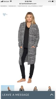 6baf8361453 Barefoot Dreams CozyChic Lite Catalina Long Cardigan | Products ...