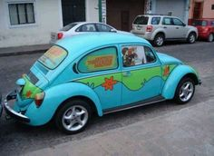 Punch Buggy Scooby Doo Vw Cars Super Beetle Bug