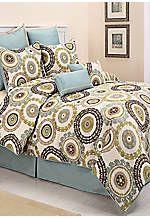 Istanbul Queen Comforter Set 90-in. x 90-in.