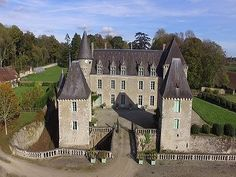bedroom French chateau for sale, Belleme, Orne, Lower Normandy 1,050,000 EUR Priced for a quick sale, this archetypal French Chateau dates back in part to the Sixteenth Centur...
