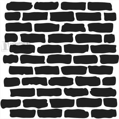 Brick Stencils on Stencil Revolution
