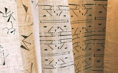Mountains of the Moon - Brook Perdigon Textiles - Table runners