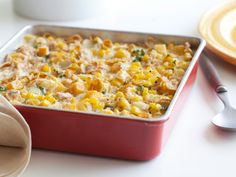 Corn and Squash Pudding Recipe : Food Network Kitchens : Food Network - FoodNetwork.com