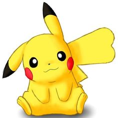 Female Pikachu, Pikachu Raichu, Pokemon Eeveelutions, Cute Pikachu, First Pokemon, Pokemon Fan, Pikachu Drawing, Pokemon Coloring Pages, Pikachu Kawai