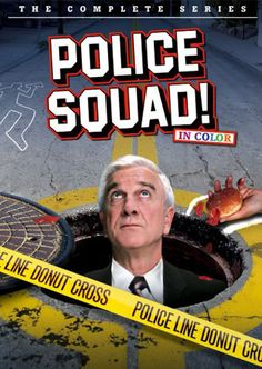 - My name is Sergeant Frank Drebin, Detective Lieutenant, Police Squad. There'd been a recent wave of gorgeous fashion models found naked and unconscious in laundromats on the West Side. Best Movies List, Movie List, Good Movies, Awesome Movies, Comedy Series, Comedy Tv, Tv Series, Great Tv Shows, Old Tv Shows