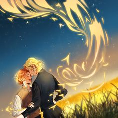 (3) #ggad hashtag on Twitter Fanart Harry Potter, Mundo Harry Potter, Harry Draco, Harry Potter Ships, Harry Potter Love, Harry Potter Fandom, Harry Potter World, Snape And Lily, Gellert Grindelwald