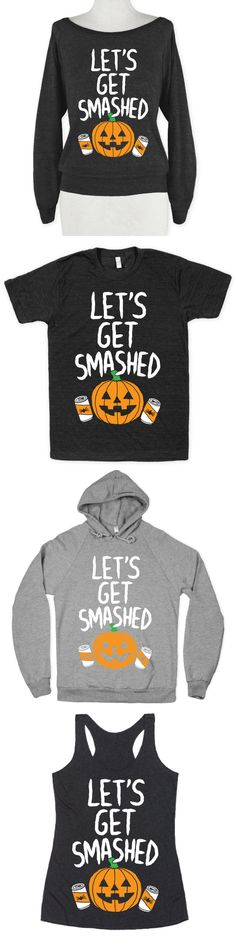 Perfect for pumpkin lovers, Halloween parties, drinking and getting wasted with friends, and trick-or-treating!