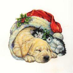 Картинки для декупажа (дети,новогоднее,дикие звери). Обсуждение на LiveInternet - Российский Сервис Онлайн-Дневников