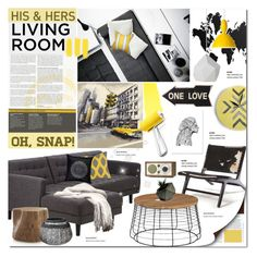Oh Snap! by justlovedesign on Polyvore featuring polyvore interior interiors interior design home home decor interior decorating Universal Lighting and Decor CB2 Crate and Barrel ferm LIVING WALL Lazy Susan DAY Birger et Mikkelsen Safavieh Tivoli Audio Rough Fusion Muuto contestentry hisherslivingroom