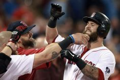 Mike Napoli was scraggly since spring training, and the beard idea, well, just grew on his teammates.