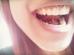 Web and Smiley piercing