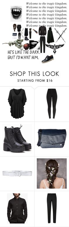 """""""Milagros & Mikos"""" by millyruiz987 ❤ liked on Polyvore featuring Jack Wolfskin, Prada, James Perse and Topman"""