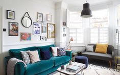 'I'm obsessed with how easily a tin of paint changes everything – so much more satisfying than clothes' Victorian Terrace House, Victorian Living Room, Room Color Schemes, Room Colors, Ikea Cot, 1930s House Renovation, Cheap Renovations, The Frugality, Home Budget