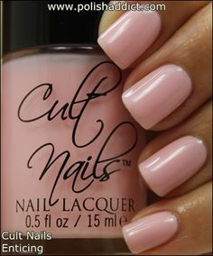 Rescue Beauty Lounge Thank You is a very light, muted nude toned pink with very subtle fuchsia shimmer. The shimmer creates a somewhat frosty effect. This color is very delicate with a hint of glimmer, perfect for conservative work places. The application, like some of the other colors in this collection was a bit on the thick side. This swatch is 3 coats.