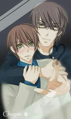 Junjou Romantica... IM not ashamed.. okay maybe a little