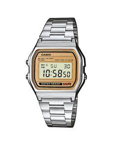 Casio Horloge A158WEA-9EF RETRO METAL • de Bijenkorf