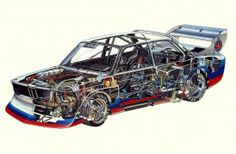 Of all the racing formulas that produced stunning race cars, Group 5 is one of our favourites.  And this BMW 320...