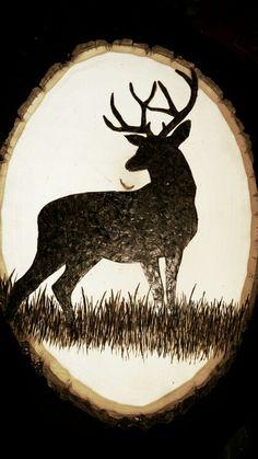 Woodburn deer shillouette