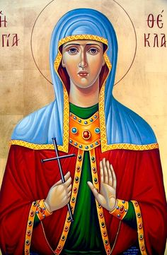 St. Thekla by Nadia of Cyprus, Greece