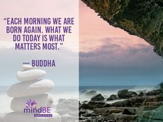 """""""Each morning we are"""