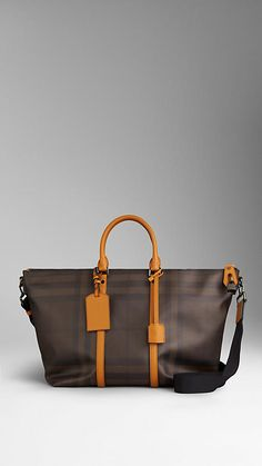 Smoked Check Tote Bag | Burberry