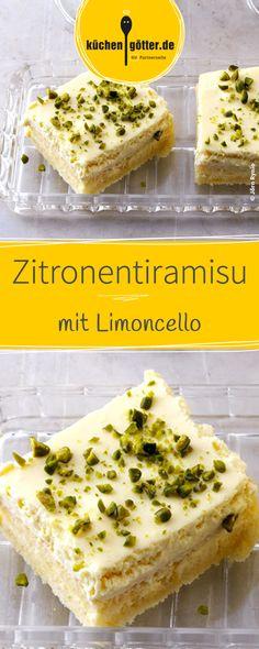 Einfaches Rezept für erfrischendes Zitronentiramisu mit Limoncello.