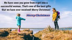Cute Merry Christmas 2019 Messages Wishes for Daughter from Parents - Happy New Year 2020 Best Merry Christmas Wishes, Christmas Wishes Messages, Merry Christmas Quotes, Wishes For Daughter, She Drama, Joy And Happiness, Daughters, Dramas, Bliss