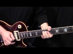 """how to play """"More Than a Feeling"""" on guitar by Boston - guitar solo and fills lesson - YouTube"""