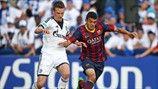 Miles Müller (FC Schalke 04) & Mohamed El Ouriachi (FC Barcelona)
