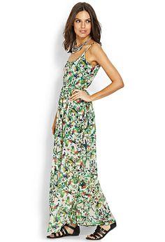 Lush Botanical Maxi Dress | FOREVER 21 - 2000069879