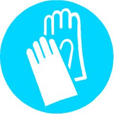 Wash your hands thoroughly – even if you've been wearing gloves – as soon as you've finished work (and before eating, drinking or smoking).