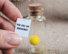 wedding favors message in bottle magnet by KseniyaRevta on Etsy