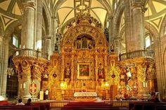 La hermosa Catedral de La Ciudad de México